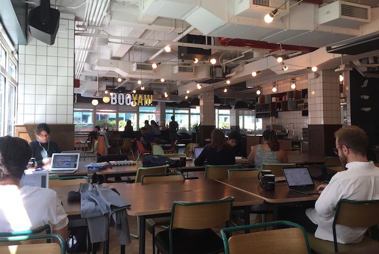 Wework in Großes Potenzial für flexible Arbeitsplatzkonzepte