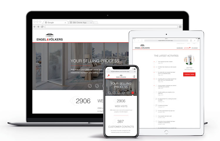 Owner-AppcEngel-Vi Lkers in Web-App für Immobilienbesitzer