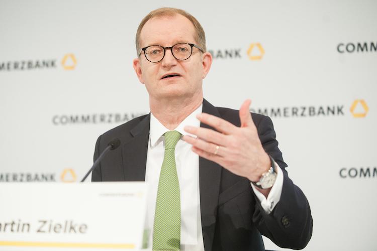 Zielke: Dax-Abstieg würde Bedeutung der Commerzbank nicht schmälern