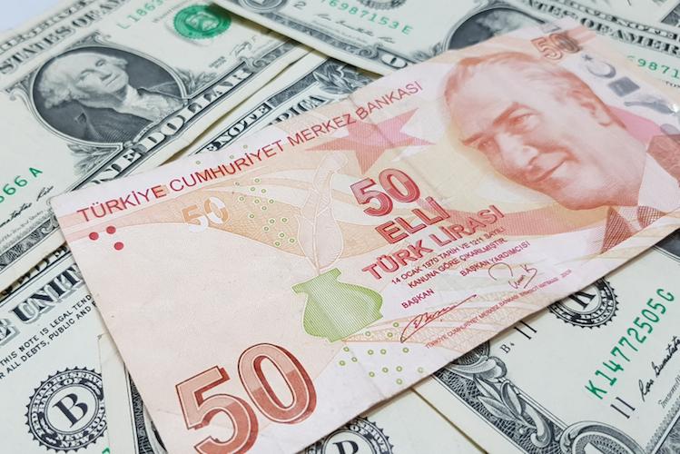 Lira-tuerkei-waehrung-geld-dollar-turkei-shutterstock 1085599202 in Märkte spielen türkische Staatspleite durch