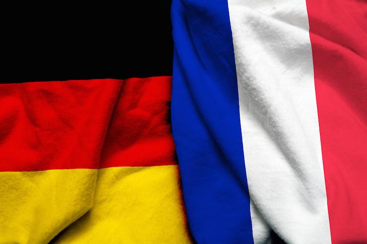 FlaggeDeutschlandFrankreich in Deutsch-französischer Zusammenschluss