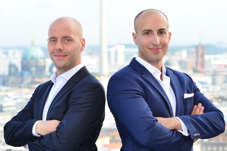 Leonard-Zobel-links-Rouven-Rosenbaum-Gescha Ftsfu Hrer-next-Block-GmbH-Kopie in Deutschland bekommt Bafin-regulierte Kryptobörse