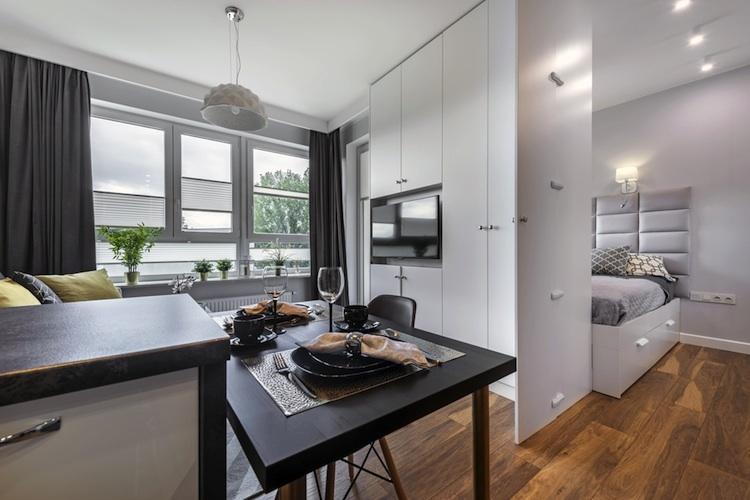 Mikrowohnen-apartment-shutt 733921558 in Zahl kleinerer Wohnungen in Großstädten nimmt zu