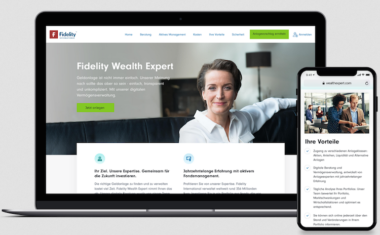 Fidelity in Fidelity bringt digitale Vermögensverwaltung
