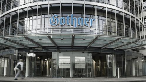 Der Eingang zur Gothaer