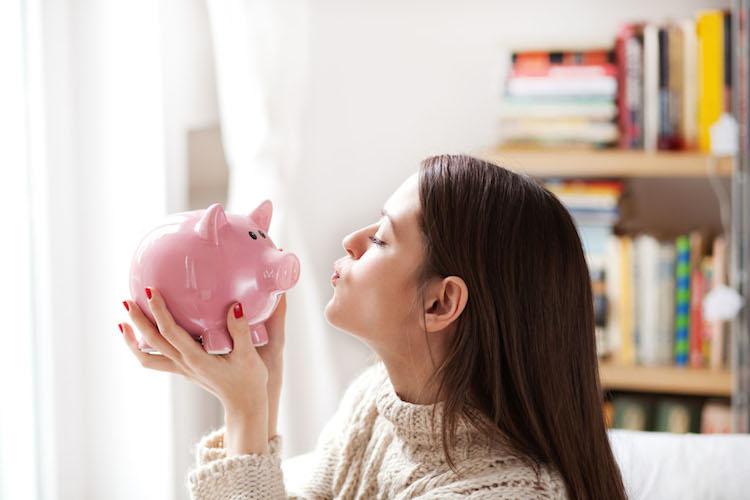 Sparschwein in Sparschwein gefragter als Aktiendepot