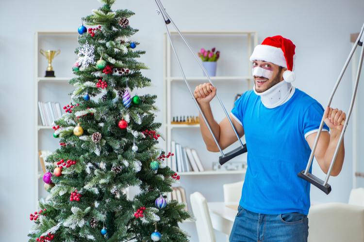 Unfall auf der Weihnachtsfeier: Wann sind sie gesetzlich versichert?