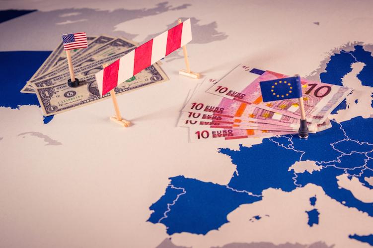 Handel-eu-usa-handelsstreit-konflikt-shutterstock 1048024081-1 in Handelsstreit zwischen EU und USA kann eskalieren