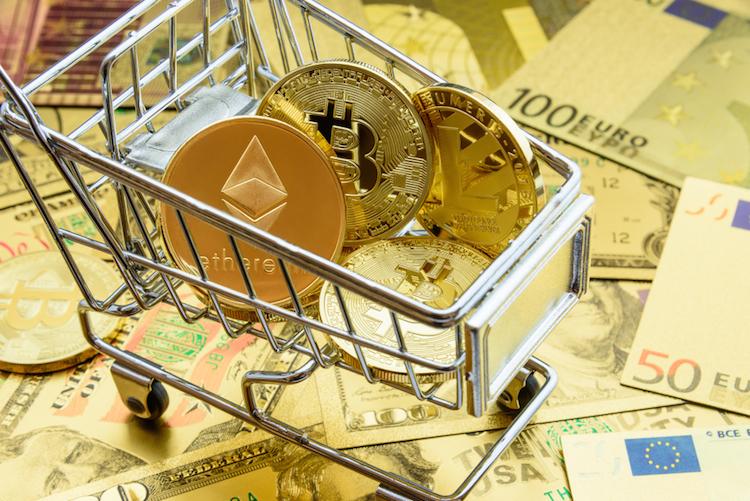 Krypto-bitcoin-ethereum-litecoin-euro-kaufen-shutterstock 1050086582 in Libra: Zentralbanken legen Facebook Forderungskatalog vor