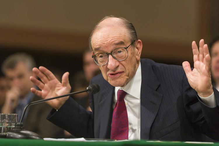 Alan-greenspan-shutterstock 431865334-1 in Alan Greenspan: Das ist eine giftige Mischung