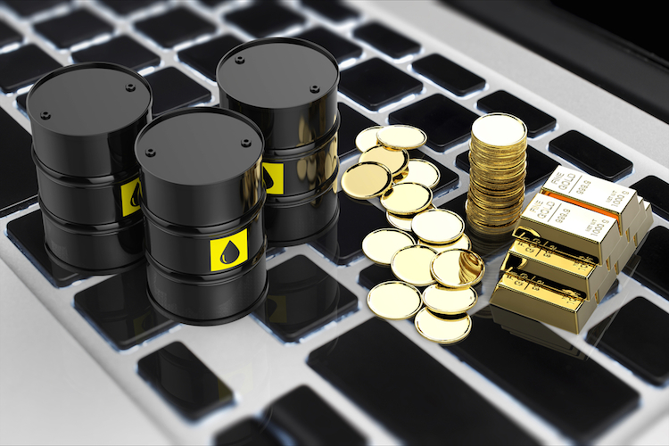 Oel-brent-gold-shutterstock 441099742 in Kein positiver Impuls für Gold zu erwarten