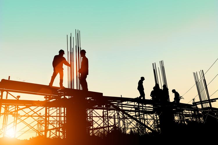 Baubranche in Bauboom sorgt für volle Auftragsbücher