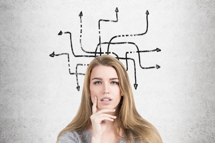 Behavioral-finance-entscheidung-frage-optionen-shutterstock 567400621 in Mit Tools gegen Anlagefehler