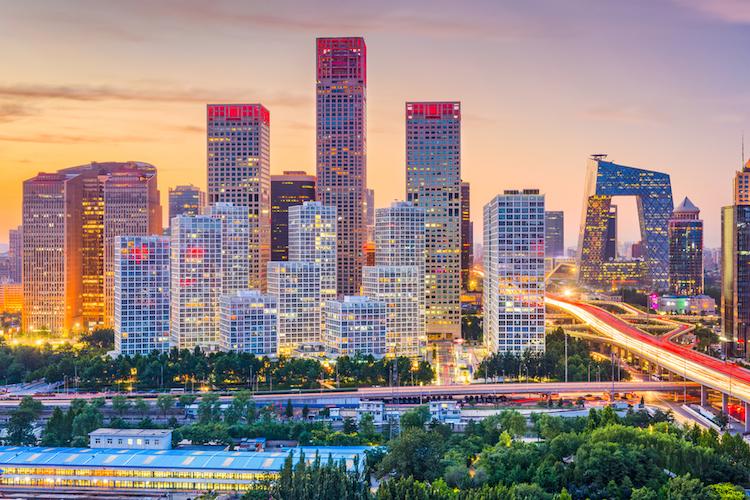 Beijing-peking-skyline-china-shutterstock 652642720 in China: Angst vor Kreditausfällen