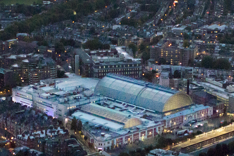 Olympia London in Genehmigung für Milliarden-Projekt in London erteilt