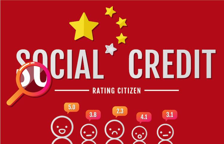 Shutterstock 1053188036 in Social Credit System kommt nicht gut an