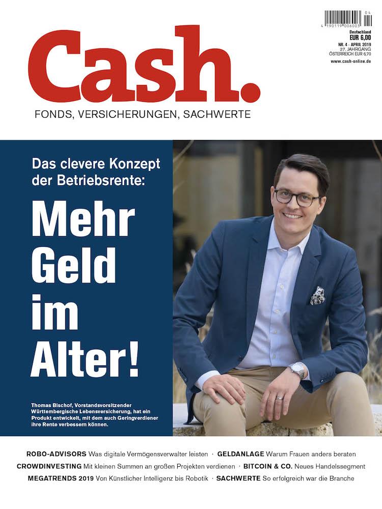 Ab Donnerstag im Handel: Die neue Cash 04/2019!