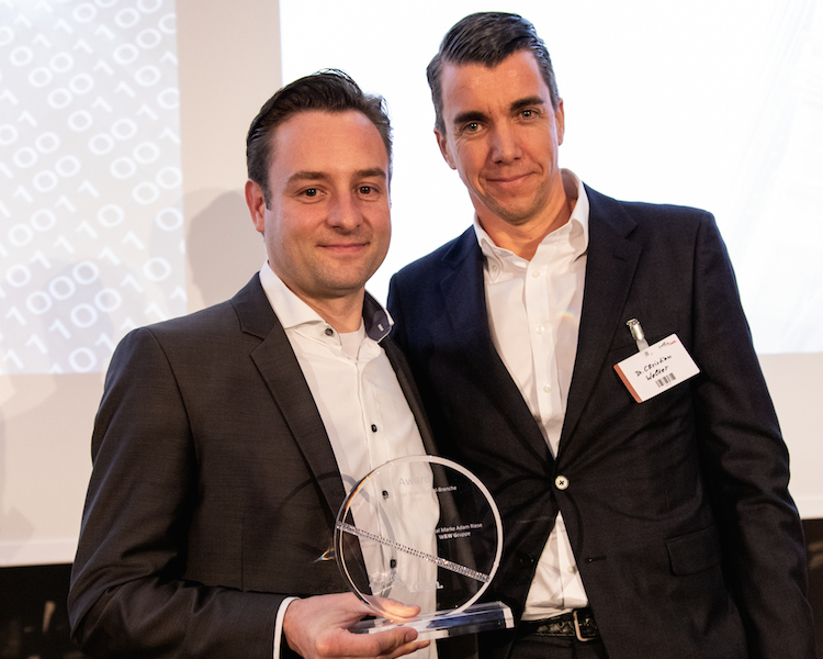 Digital Awards: Adam Riese für Neue Wege in der Digital-Branche ausgezeichnet
