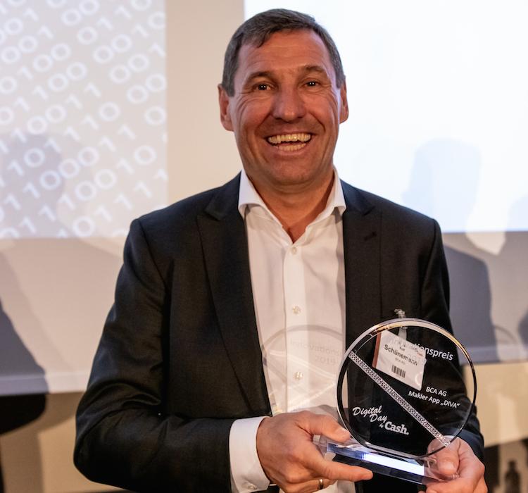 Digital Awards: BCA erhält Innovationspreis für Makler-App DIVA