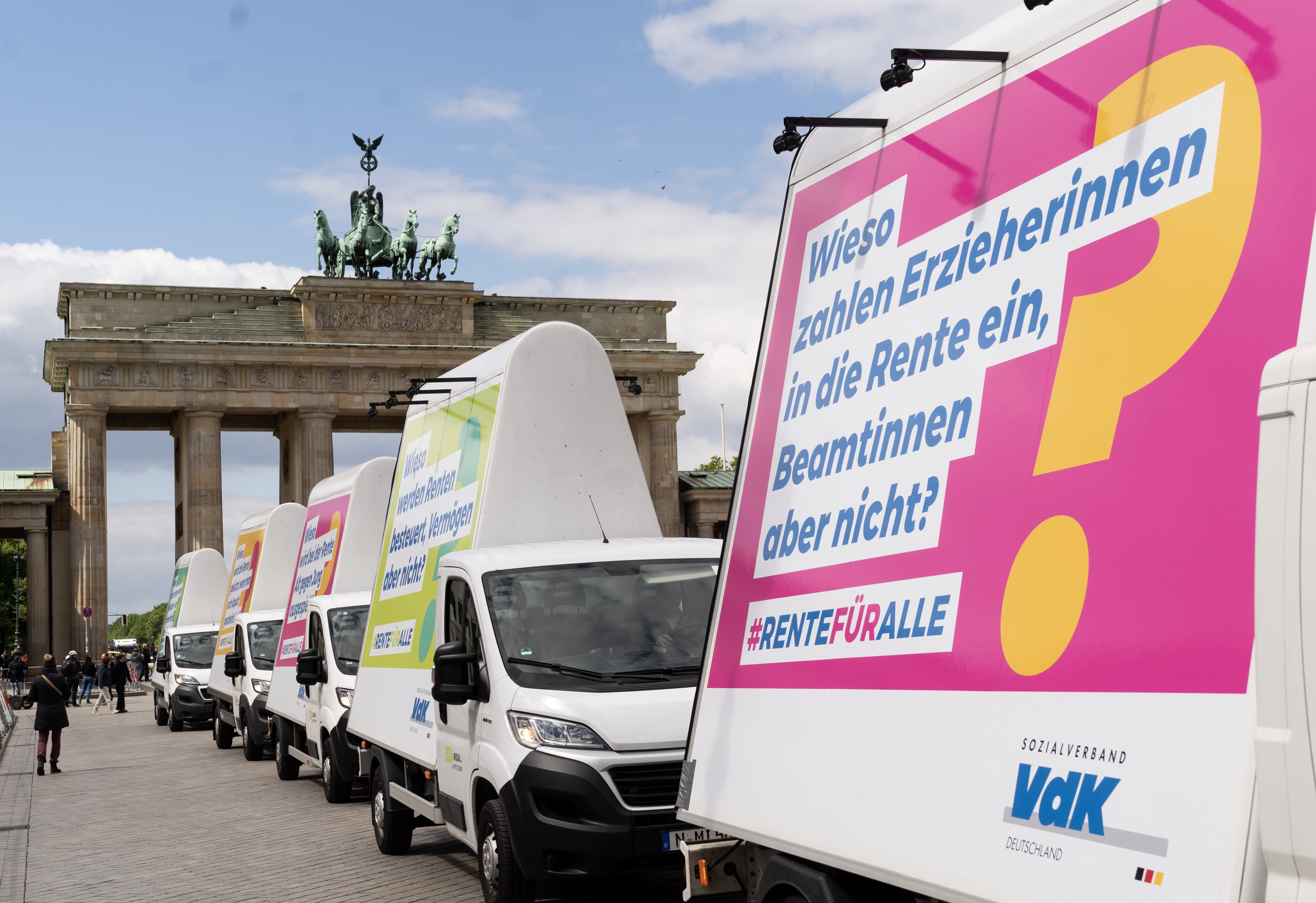 #Rentefüralle: VdK unterstreicht Forderungen mit Kampagne