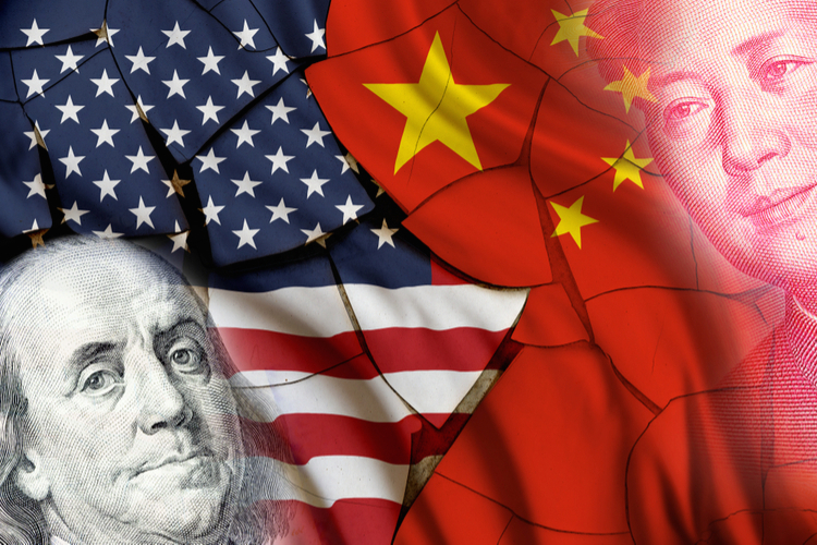 USA-China-1 in Eskalation im Handelskrieg mit China: Strafzölle in Kraft