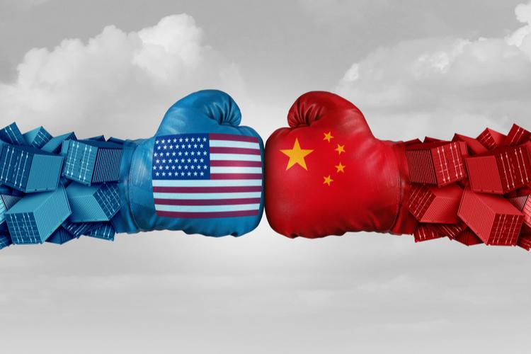 USA-China in Sehen, was passiert: Trump bleibt im Handelsstreit mit China knallhart