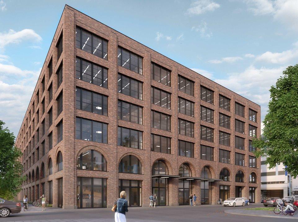 """M8 Aussenfassade Klein in """"M8 –Work & Create"""": Optima verkauft an Real I.S. AG"""