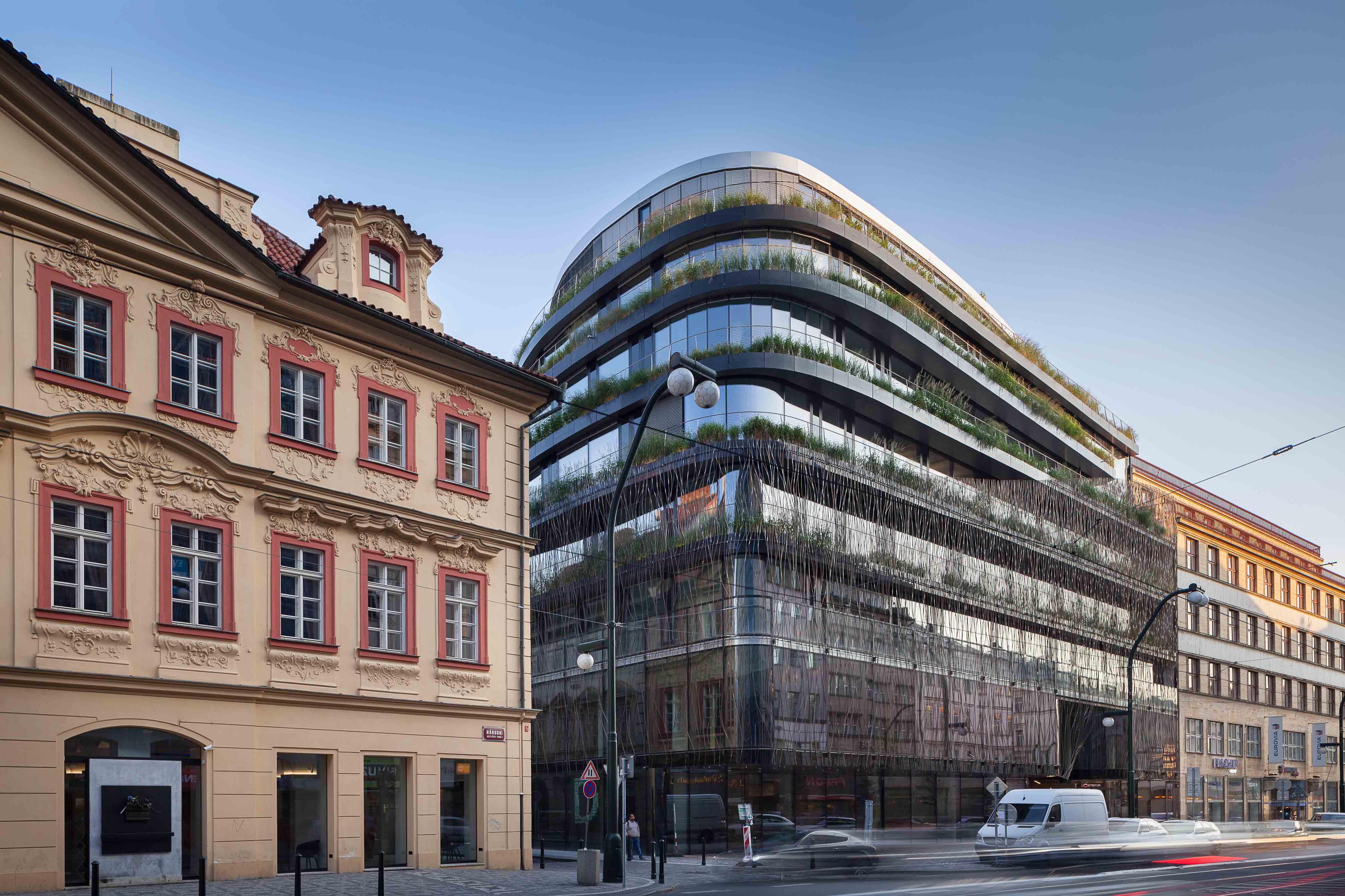 DRN Aussenansicht KGAL 3 in KGAL sichert Trophy-Immobilie für Einstieg in Prag