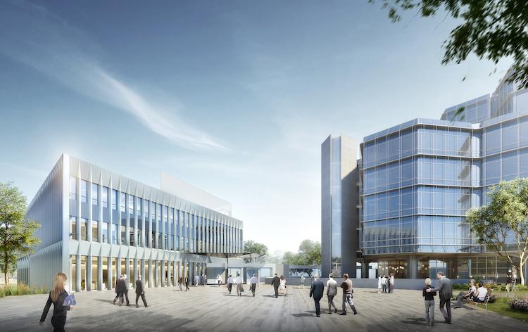 Der-neue-Swiss-Life-Karriere-Campus in Grundstein für weiteres Wachstum: Swiss Life investiert Euro in neues Seminar- und Tagungszentrum