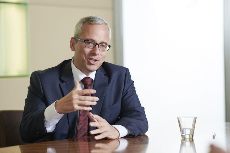 Pressefoto Norman-Lemke Gespr Ch in Acht RWB-Fonds kündigen Ausschüttungen an