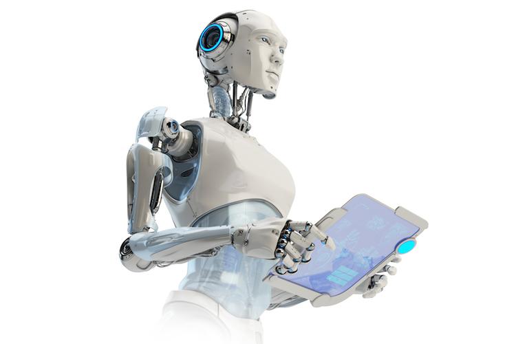 Robo-Kopie in Berater der Zukunft