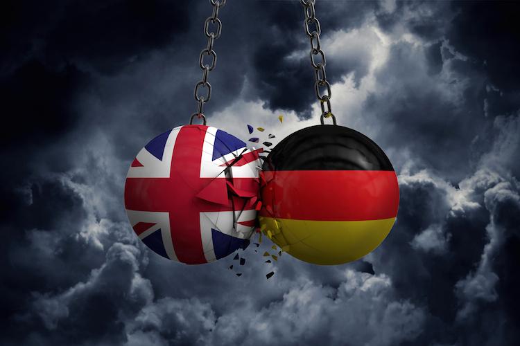 Shutterstock 1229021983 in Brexit: Handel zwischen UK und Deutschland bricht ein