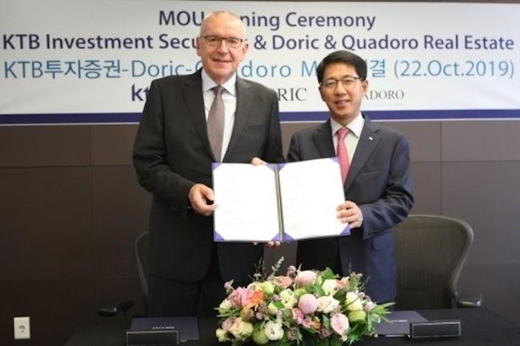 KTB-Kopie in Doric kooperiert mit Finanzdienstleister aus Korea