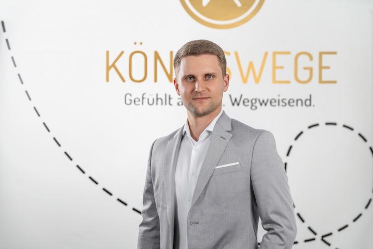 Nicolas-Kocher KOENIGSWEGE in Weitere Fintech-Kooperation von Blau Direkt