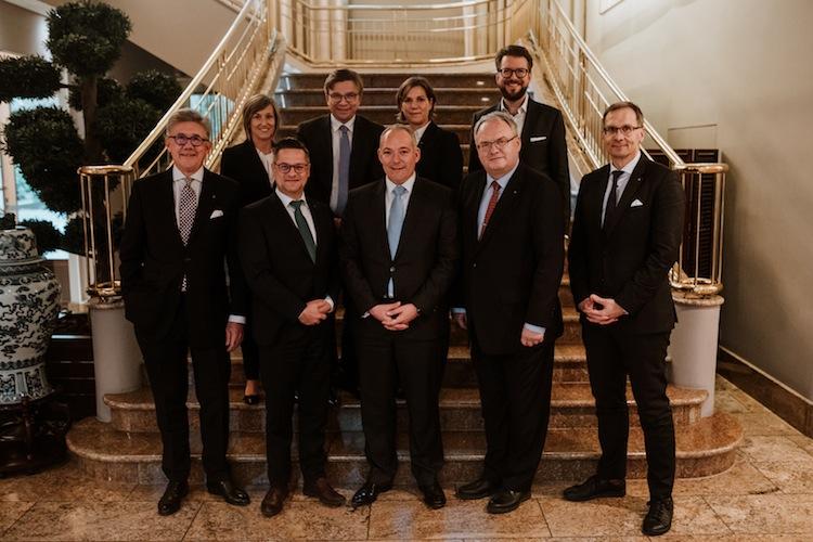 Vorstand1 in Thomas Haukje neuer BDVM-Präsident
