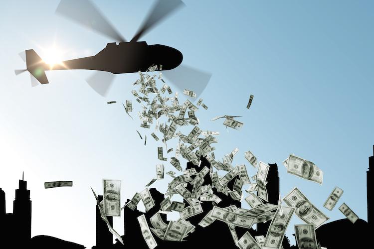 Heli in Folgen von Quantitative Easing – Liquiditätsmanagement ist gefragt