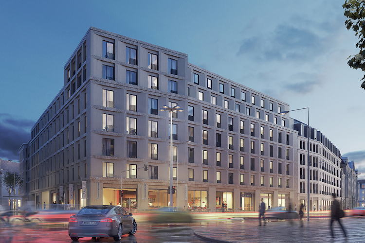 Krystallpalast 1 in Kreditfonds finanziert Quartiersentwicklung in Leipzig