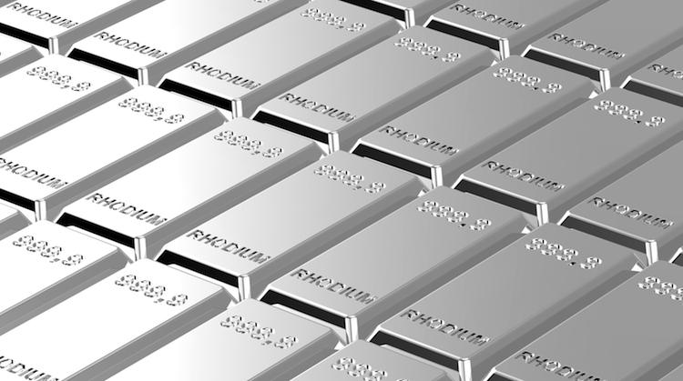 Rhodium in Dieses unbekannte Metall lässt selbst Palladium alt aussehen