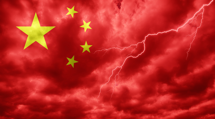 Shutterstock 584763208 in Chinas Firmen sind hoch verschuldet