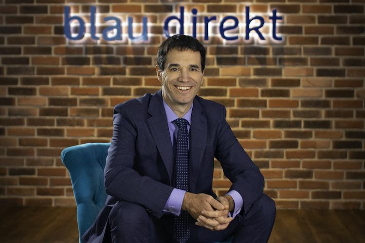 Oliver Pradetto in Blau Direkt steigert Umsatz dank Digitalisierung