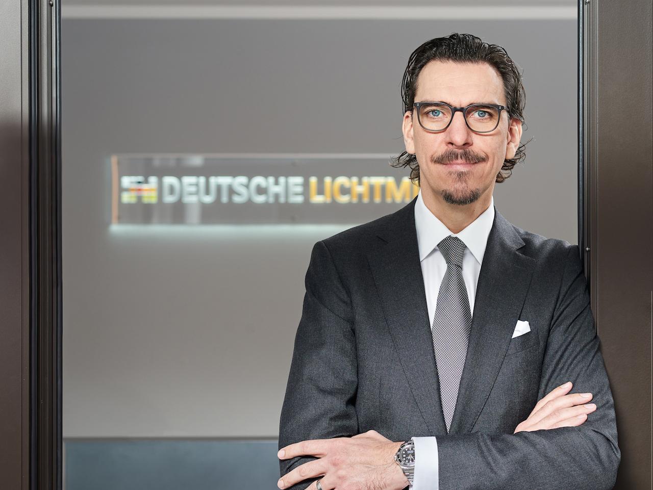Portraet Alexander Hahn 2019 300dpi in Deutsche Lichtmiete trotz Corona optimistisch für 2020