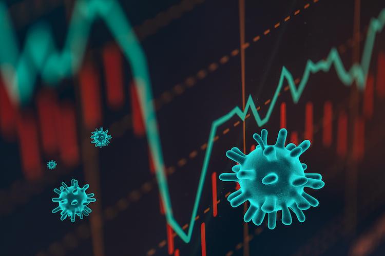 Shutterstock 1658501800 in Pandemie hat erhebliche negative Auswirkungen auf Portfolios
