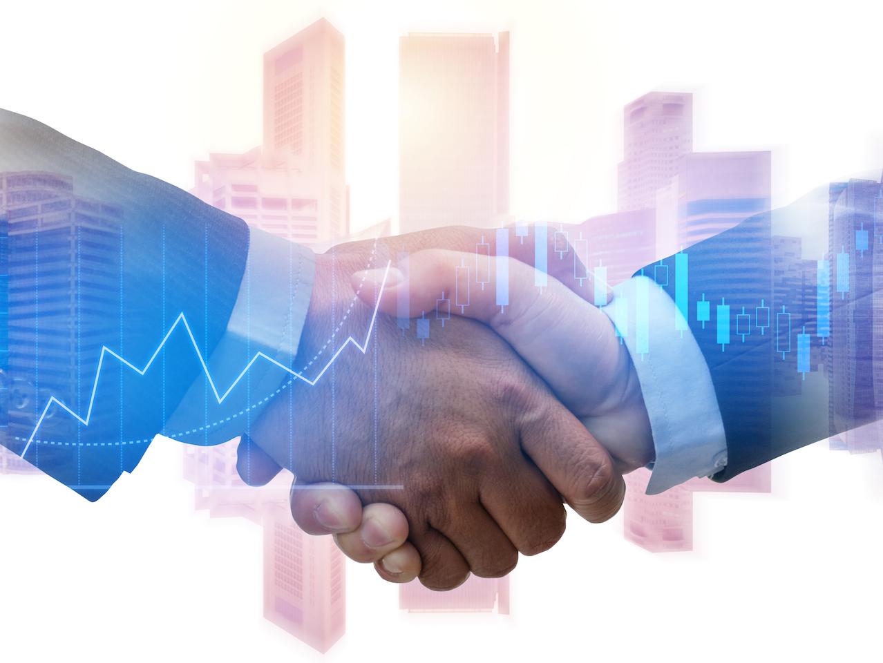 Symbolbild Handshake zur PwC-Analyse