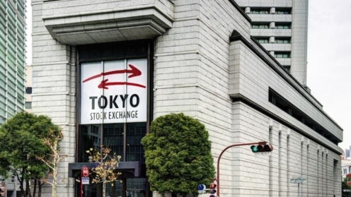Börsengebäude in Tokio