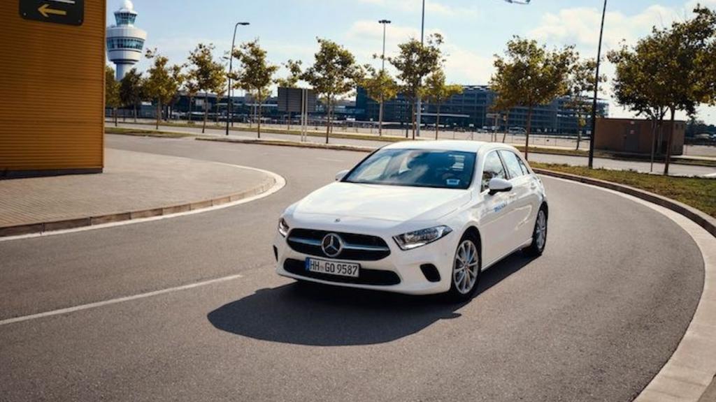 A Klasse von Mercedes