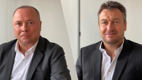 Chefs von Delasy und Te Management