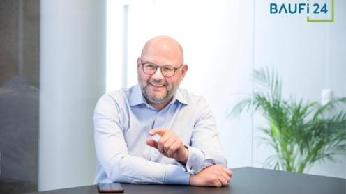 Portraitbild von Michael Lorenz, Vorstandsmitglied Bei Baufi24