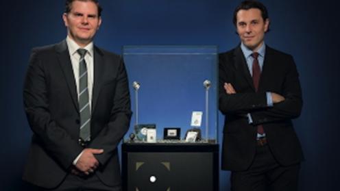 René Brückler und Rudolf Brenner