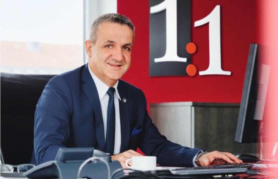 Portraitfoto von Thomas Maier, Vorstand Vertrieb & Service, 1:1 Assekuranzservice AG