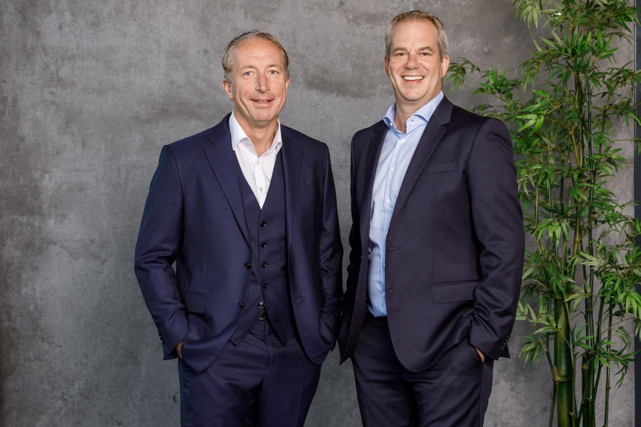Foto von Christian Hamann und Thorsten Eitle, Gründer von hep